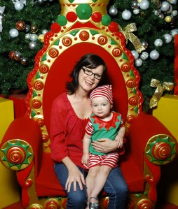 Our 2012 Santa photo. Without Santa.