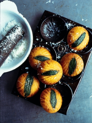 sage-and-polenta-madeleines